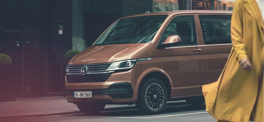 Volkswagen Multivan Braun Metallic Motiv