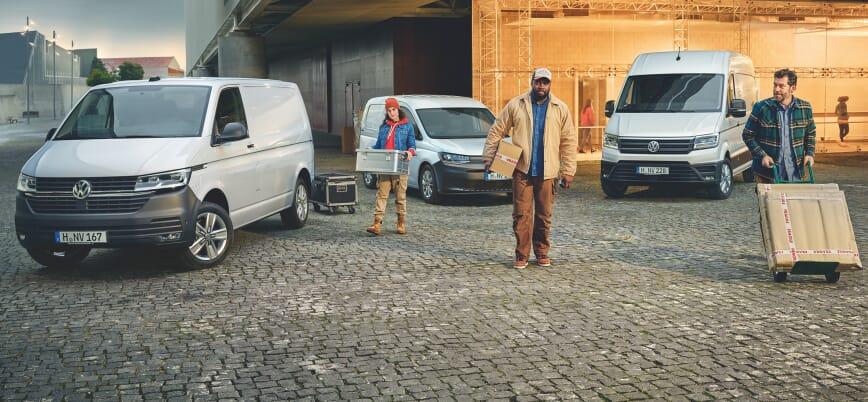 Volkswagen Profi Modelle Range