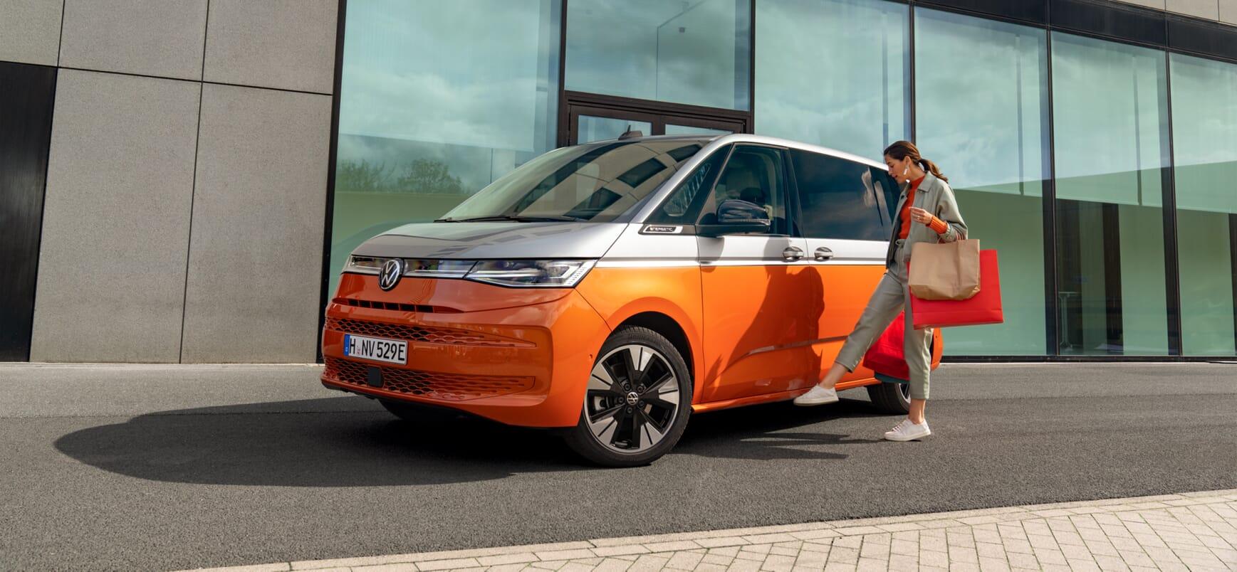 VW Multivan T7 neu 2021 MAHAG München Banner image