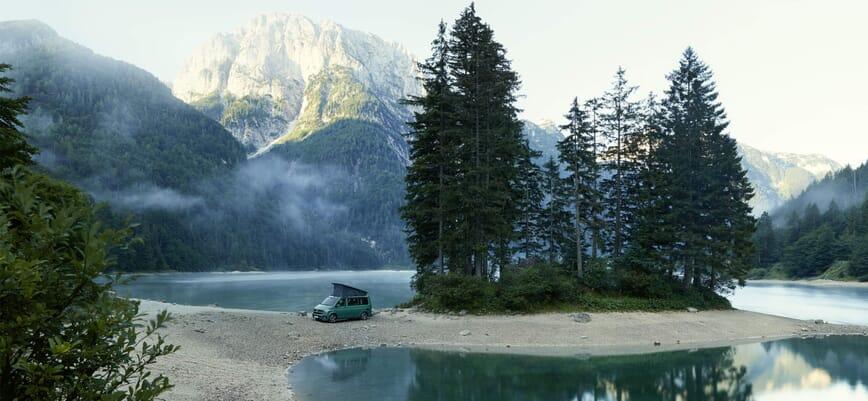 Volkswagen California in der Natur