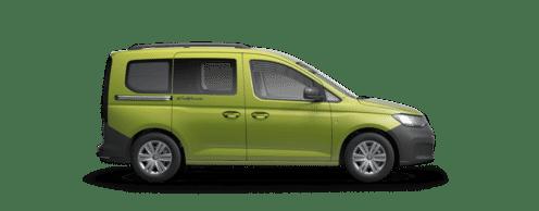 VW Caddy California Lakierung Golden Green Metallic