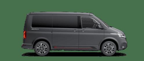 VW California 6 Beach Lakierung Pure Grey Dach Schwarz