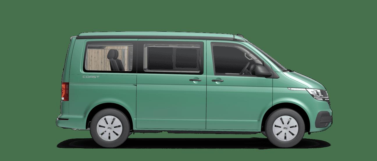 Volkswagen California Coast Lakierung Bay Leaf Green Metallic