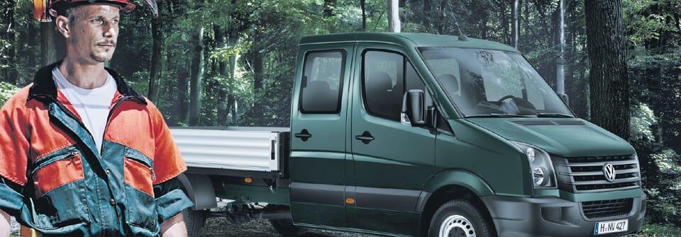 Bild von Volkswagen Crafter und der Forstverwaltung