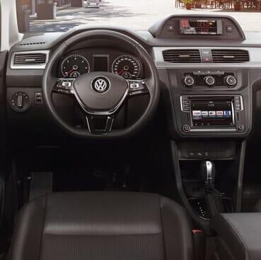 Bild von Volkswagen Taxi Fahrerraum
