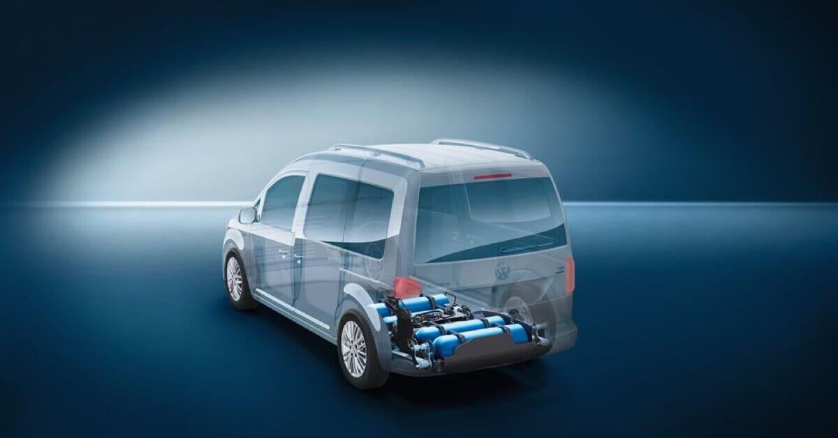 VW CAD mit umweltfreundliche Antrieb