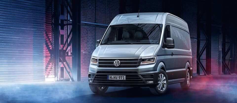 Der neue Volkswagen Crafter in München