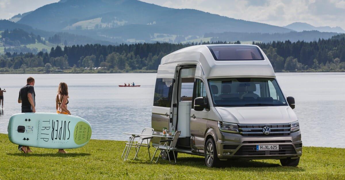 Volkswagen München Weltpremiere California XXL
