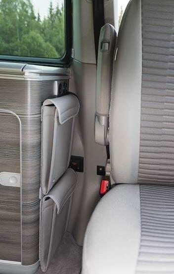 UTILITY für Kleiderschrank-Heckabschluss VW T4 California Coach hoch
