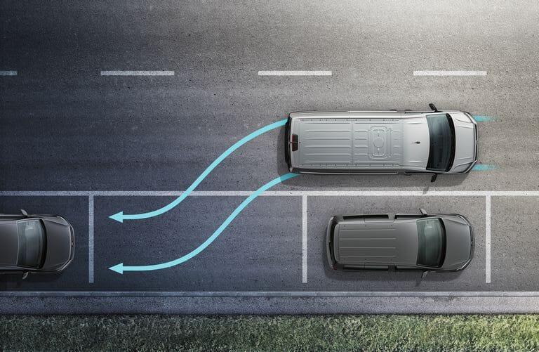 Volkswagen Crafter Fahrerassistenzsysteme - Parklenkassistent Park Assist
