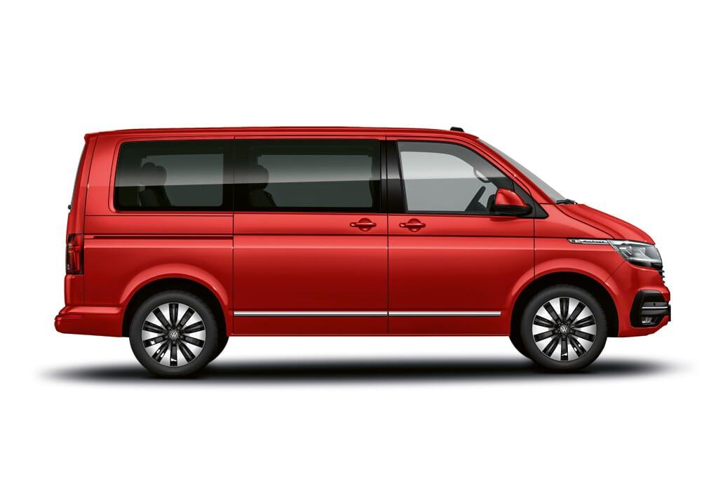 Volkswagen Multivan T6.1 Aussenlackierung Kirschrot
