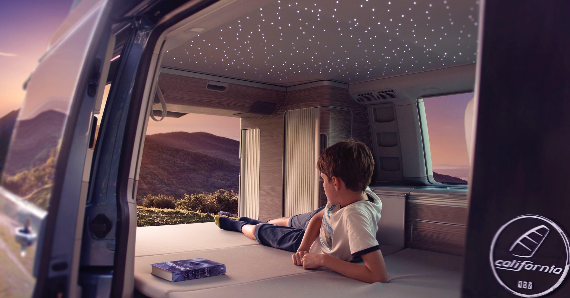 Volkswagen California LED Sternenhimmel