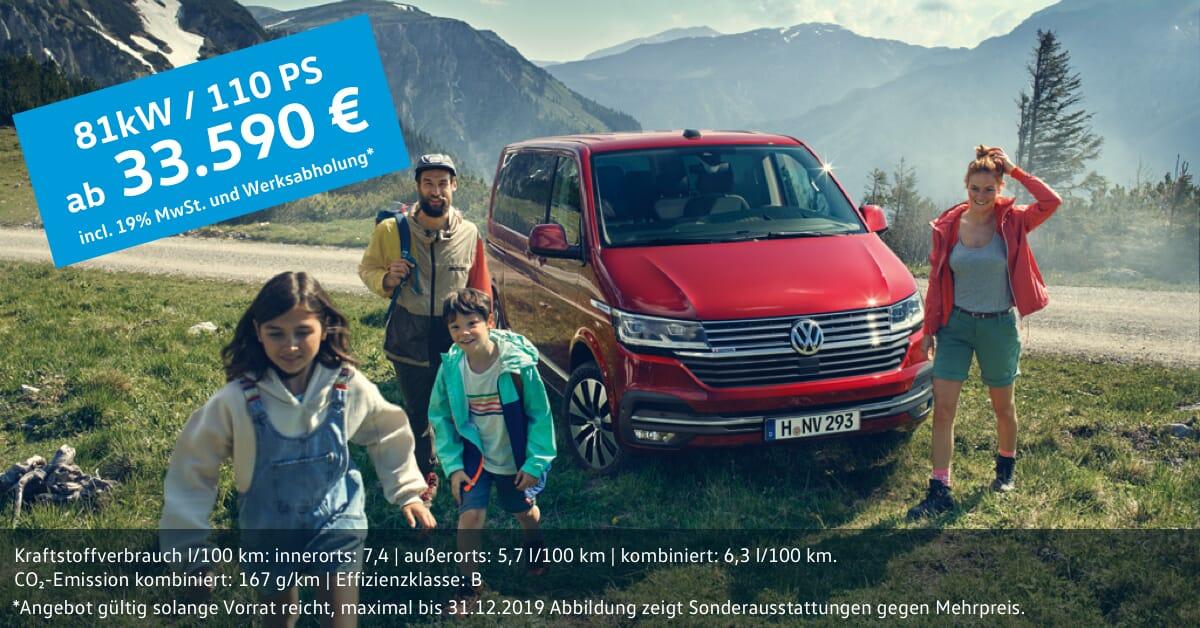 VW Multivan Family ab 33.590 € in München