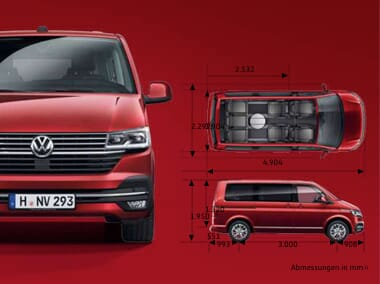 VW Multivan 6.1 Highline Serienausstattung