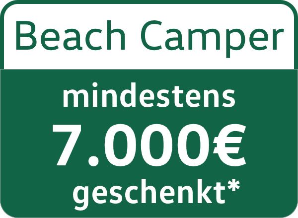 VW California Beach Camper 7000€ Messe Rebatte