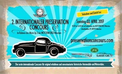 CfC Preservation Concours - Registrieren