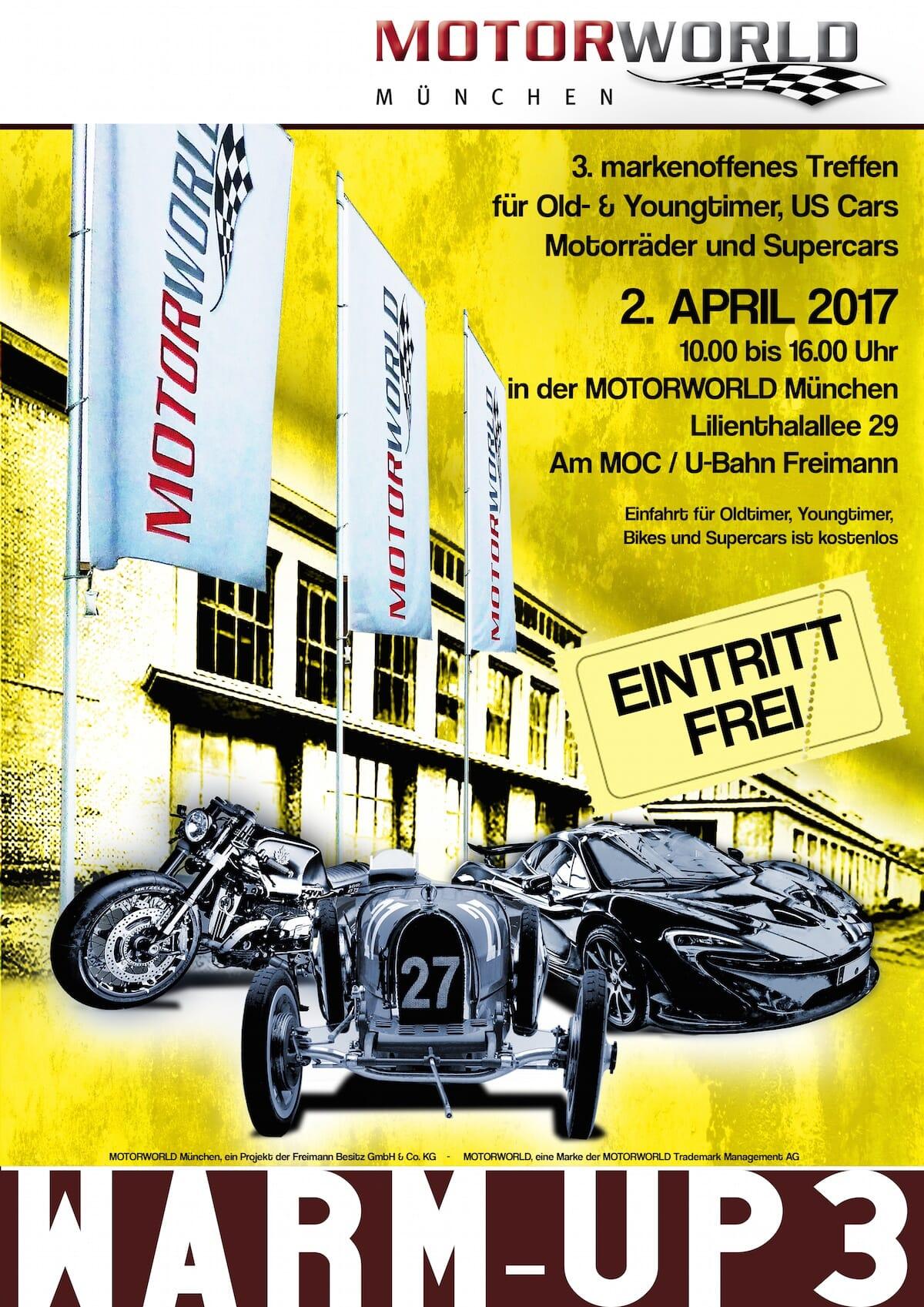 Motorworld München – Warmup 3