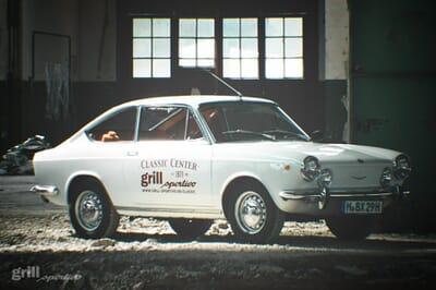 Fiat 850 in Weiss