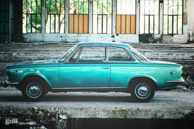 Fiat Vignale 1500 in Blau