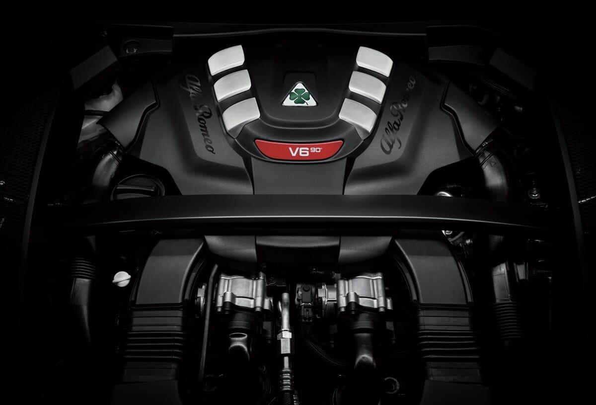 Alfa Romeo Stelvio Quadrifoglio V6 Bi Turbo Motor