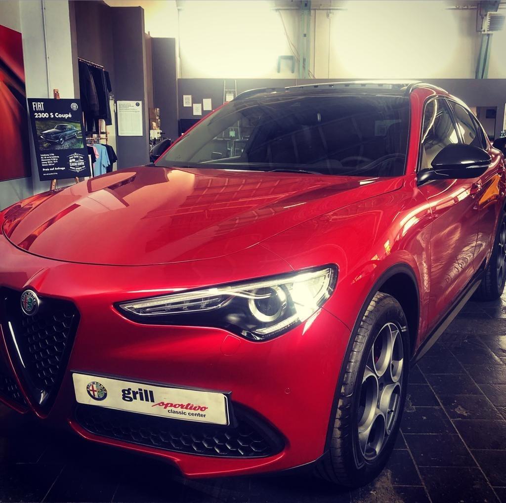 Alfa Romeo Stelvio Alfa Rosso Rot Gebrauchtwagen