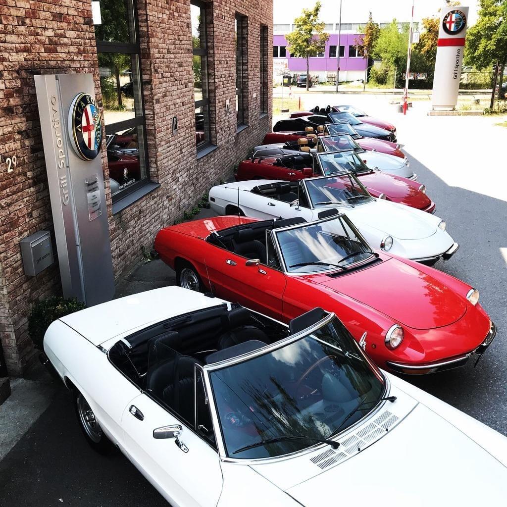 Alfa Romeo Spider oldtimer