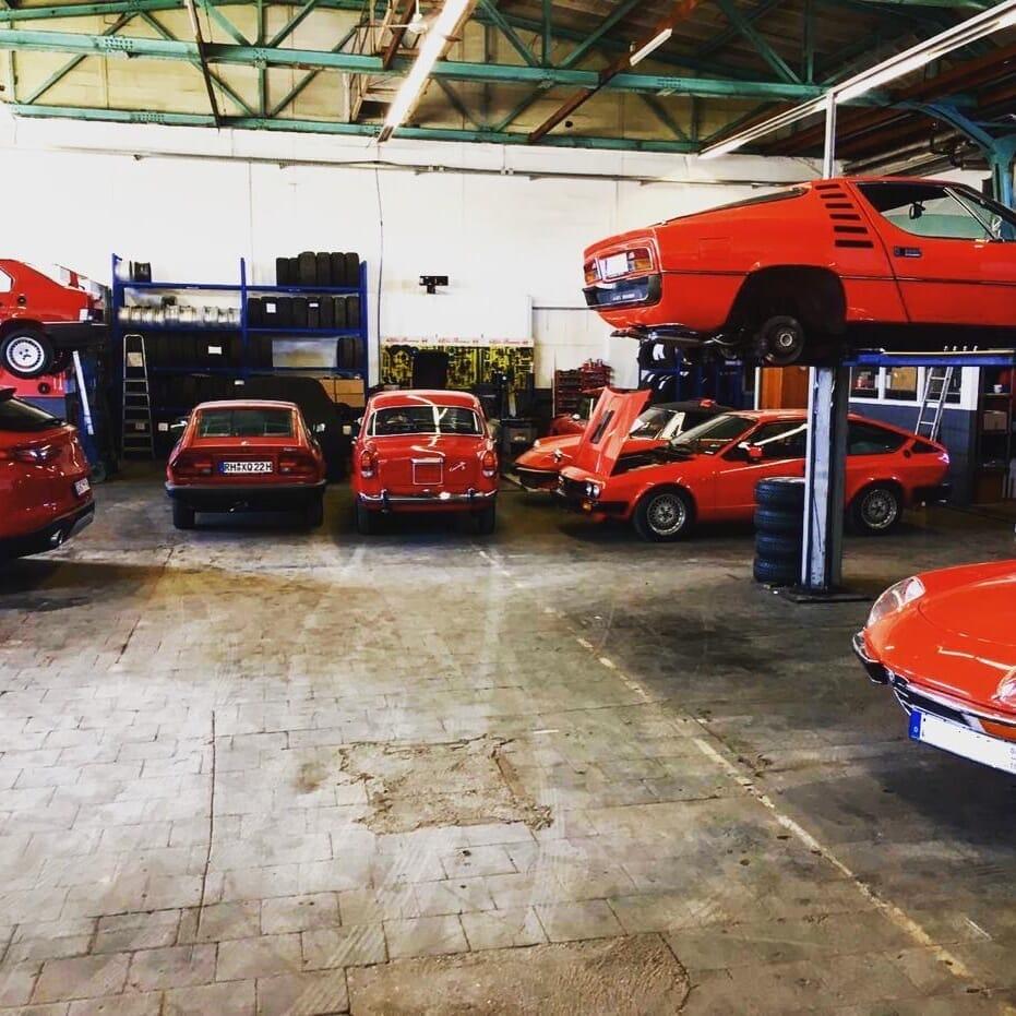 Alfa Romeo Werkstatt in München von grill sportivo automotive GmbH
