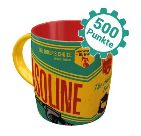 Retro Kaffee-Becher